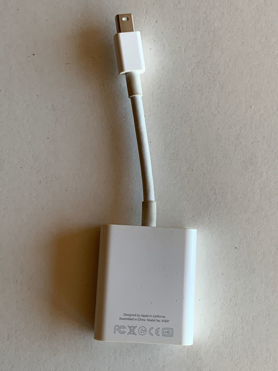 Mini DisplayPort to VGA Adapter Apple純正a1307