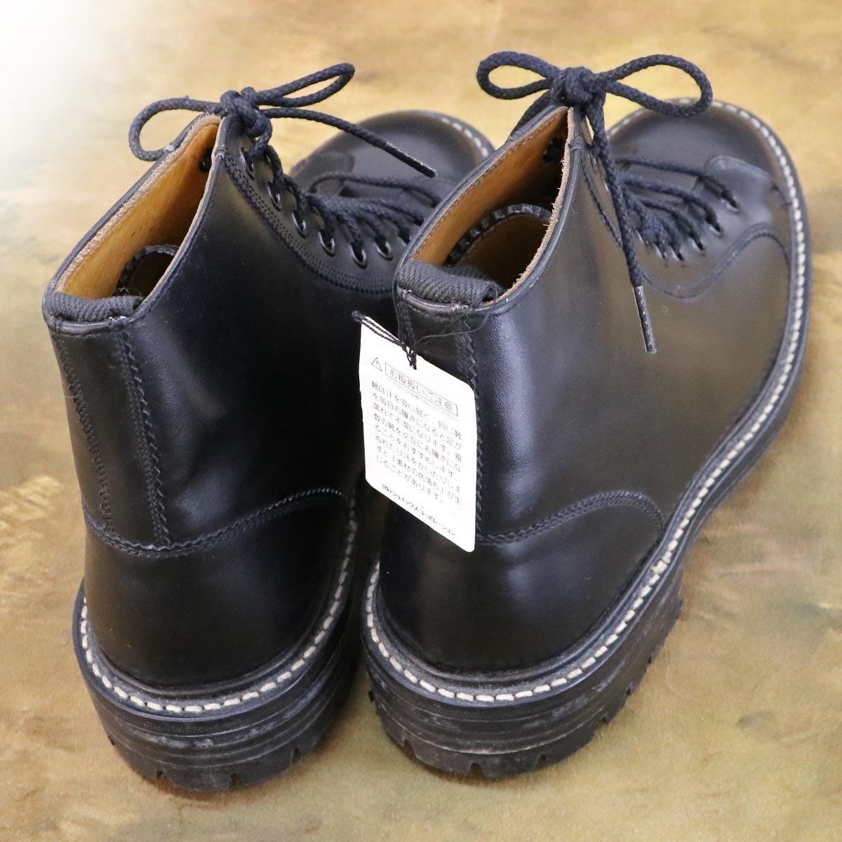 本物 極上品 トリッカーズ 別注品 ポールスミス レースアップ DERBY レザーブーツ ブラック 紳士靴 スニーカー Tricker's_画像7