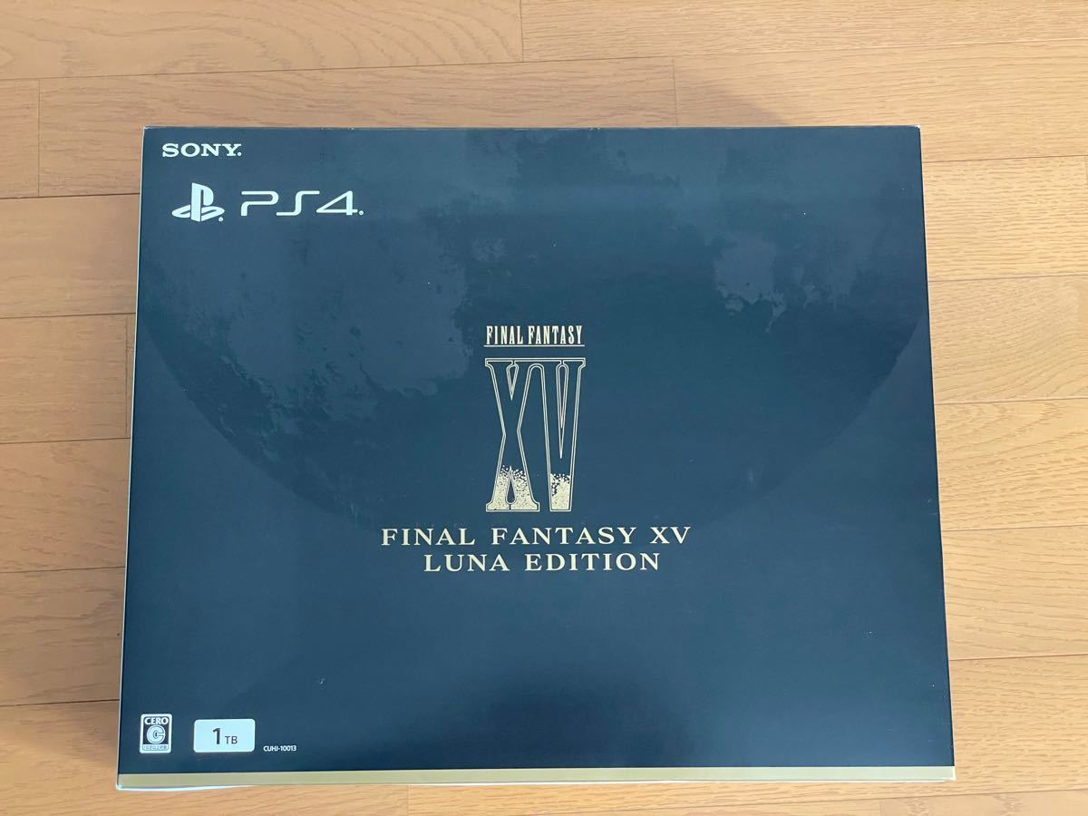 SONY PS4 本体 PlayStation4 FINAL FANTASY XV LUNA EDITION FF15 限定版