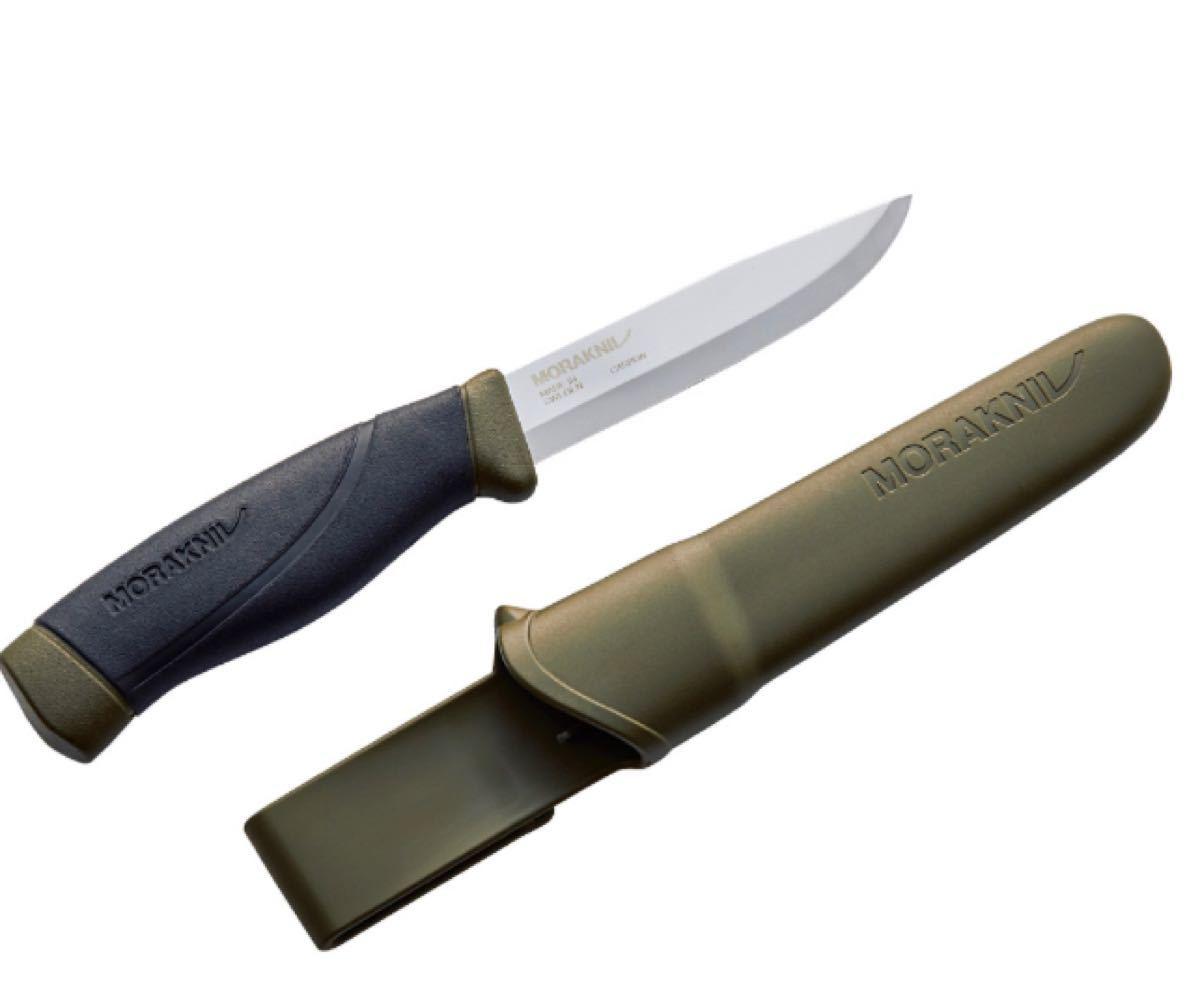 モーラ・ナイフ カーボンスチール 刃厚3.2mmMora knife Companion Heavy Duty MG