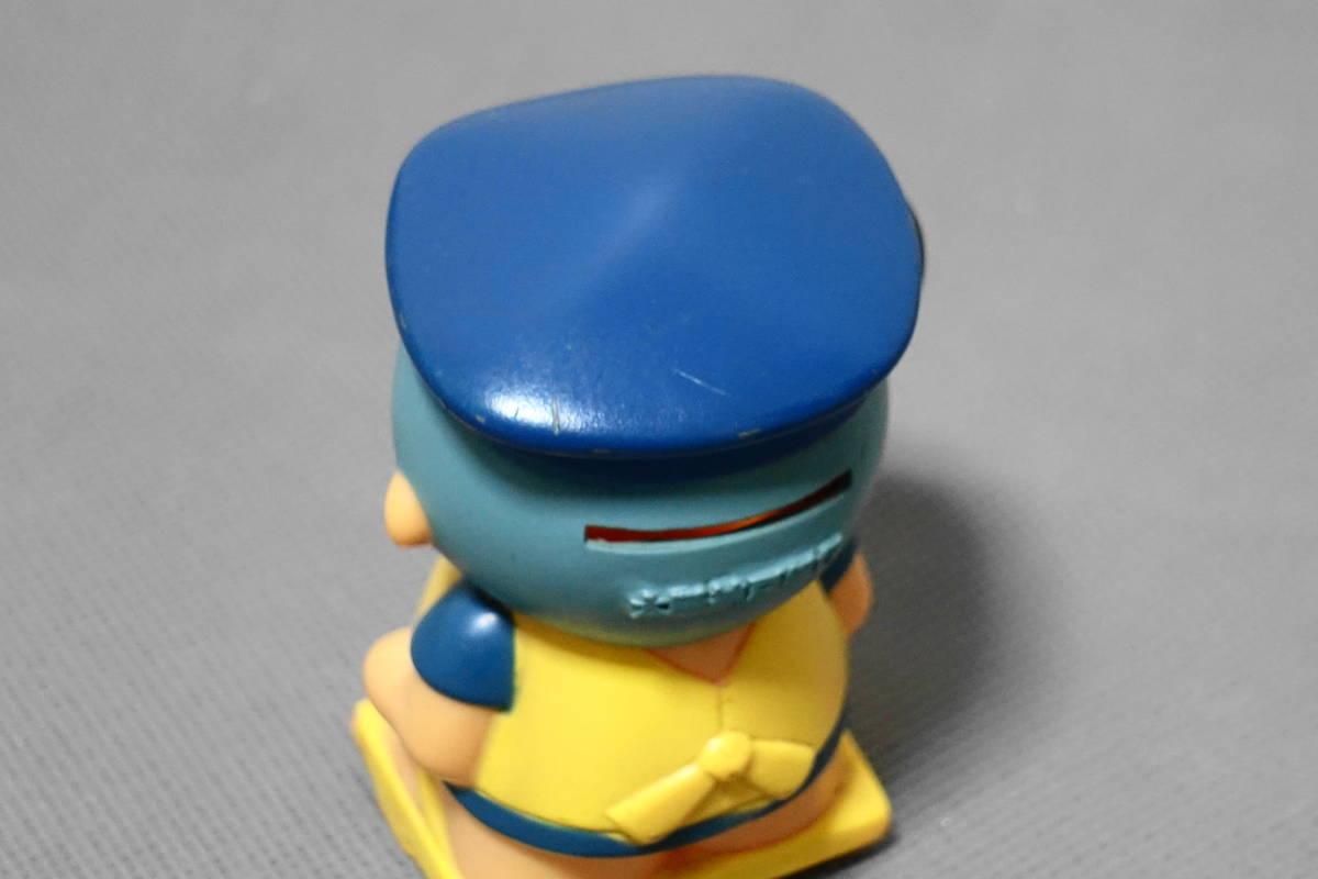 太陽神戸銀行 フクちゃん ソフビ 貯金箱 銀行貯金箱 横山隆一 小学館 マスコット 企業物 販売促進品 ノベルティ 昭和レトロ_帽子にスレ、色ハゲがあります。