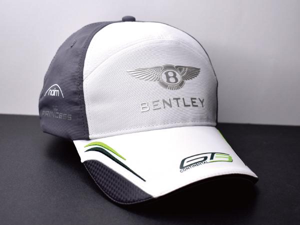 f103【未使用】BENTLEY ベントレー GT3 コンチネンタル 海外モデル♪ クールなデザイン★ レース キャップ 帽子 希少モデル♪ 国内入手困難