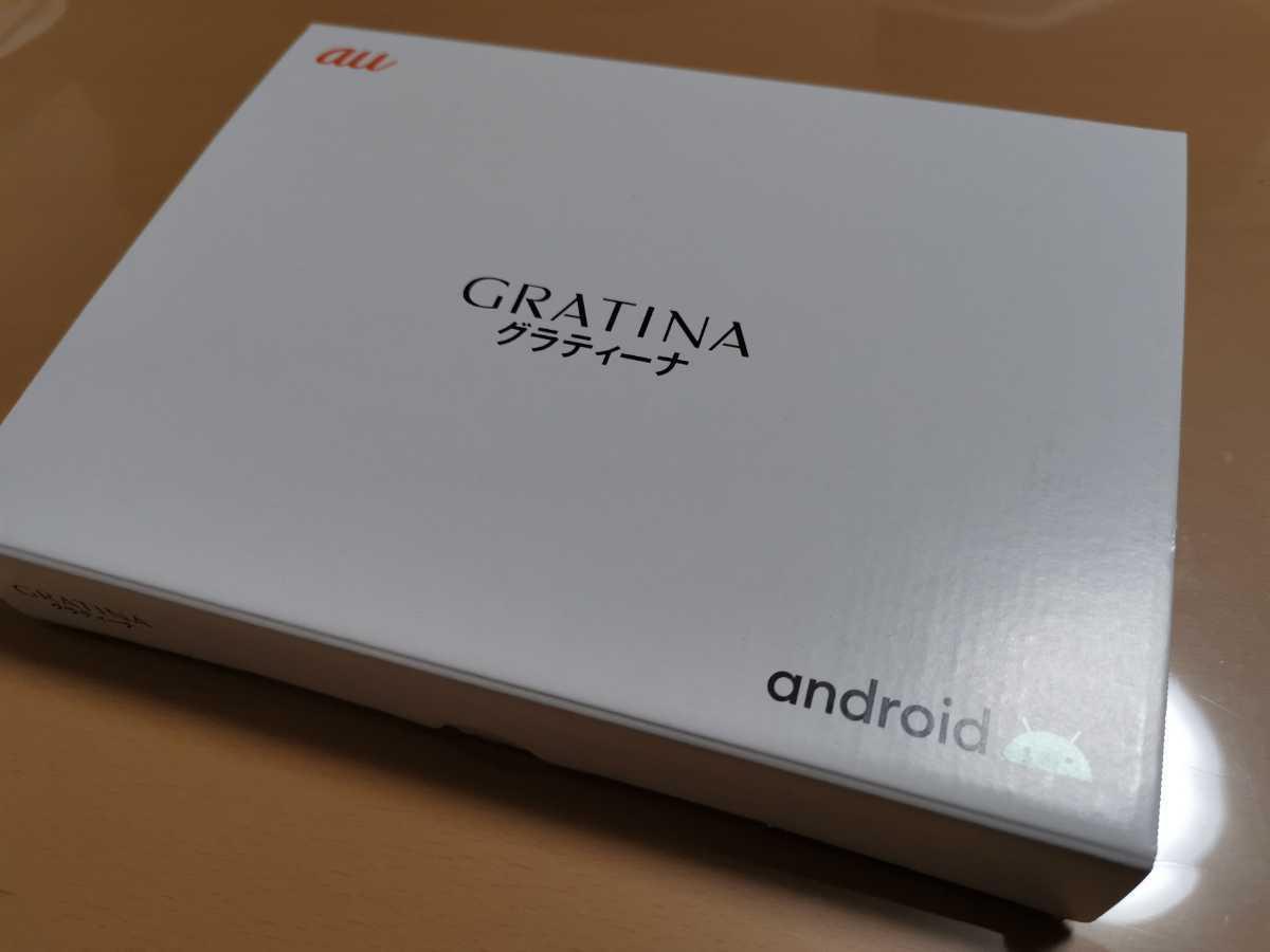 GRATINA KYV48 ホワイト SIMロック解除済 京セラ 利用制限○ 新品 送料無料