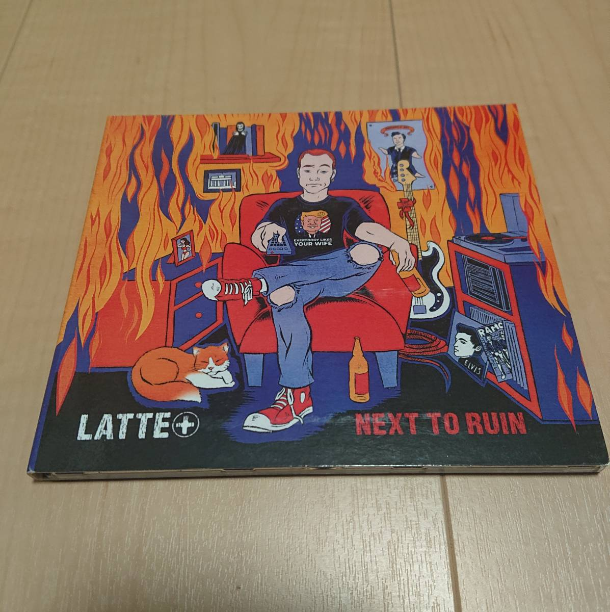 【Latte+ - Next To Ruin】manges queers screeching weasel pop punk
