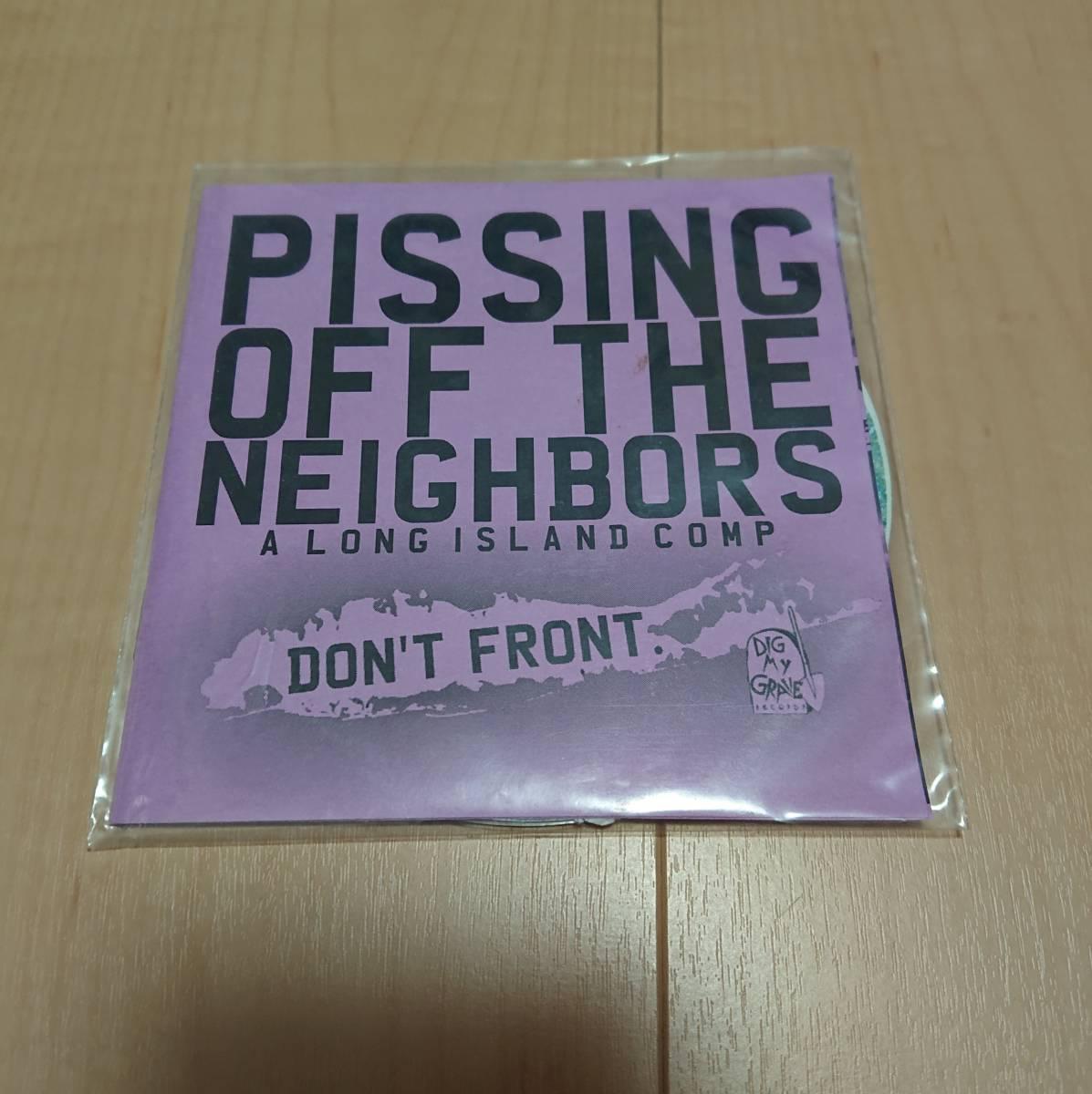 【Various - Pissing Off The Neighbors】Jonesin' Sister Kisser Iron Chic Rations snuffy smile
