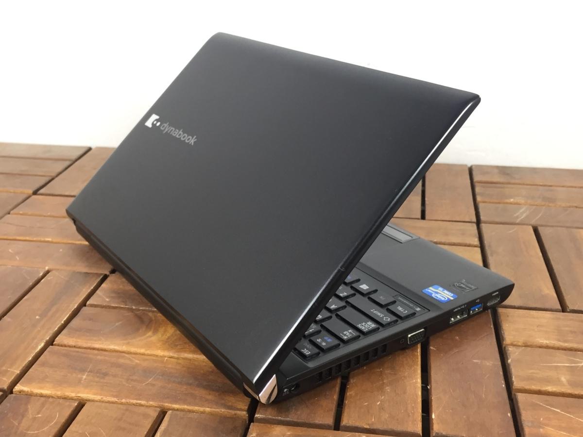高速SSD512GB搭載!【東芝 TOSHIBA/dynabook R732/H】Windows10/office搭載/光学ドライブ搭載 Core i5-3340M/メモリ8GB/新品SSD512GB_画像6