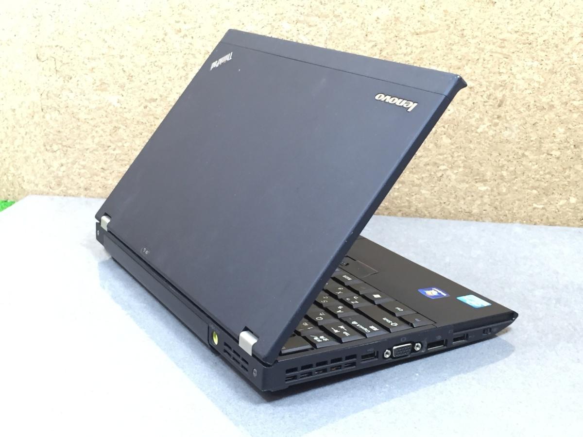 Windows10/office搭載/Webカメラ搭載!ビデオ通話対応【Lenovo レノボ/Thinkpad E220】Core i5-2520M/メモリ4GB/新品SSD120GB_画像5