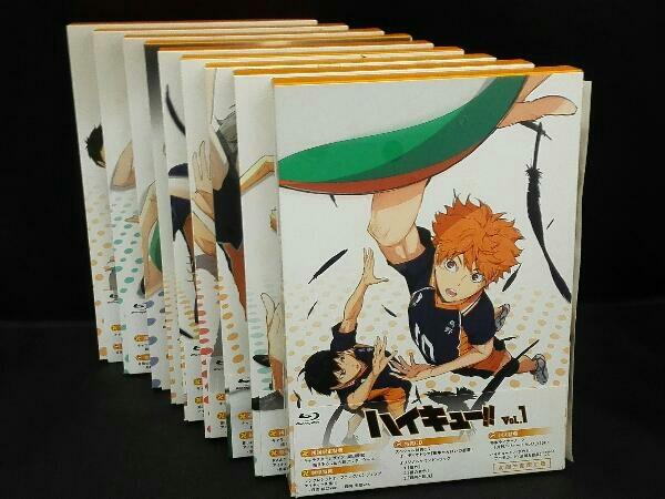 【※※※】[全9巻セット]ハイキュー!! vol.1~9(Blu-ray Disc)_画像1