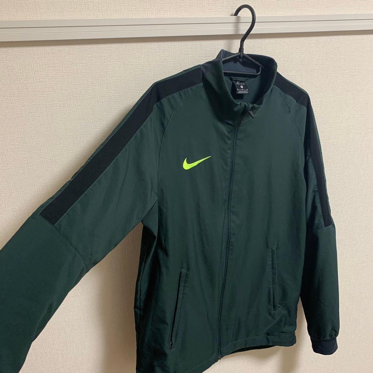 【即決】NIKE ウォームアップジャケット 裏地有 ナイキ モスグリーン スポーツウェア トレーニングウェア ランニングウェア