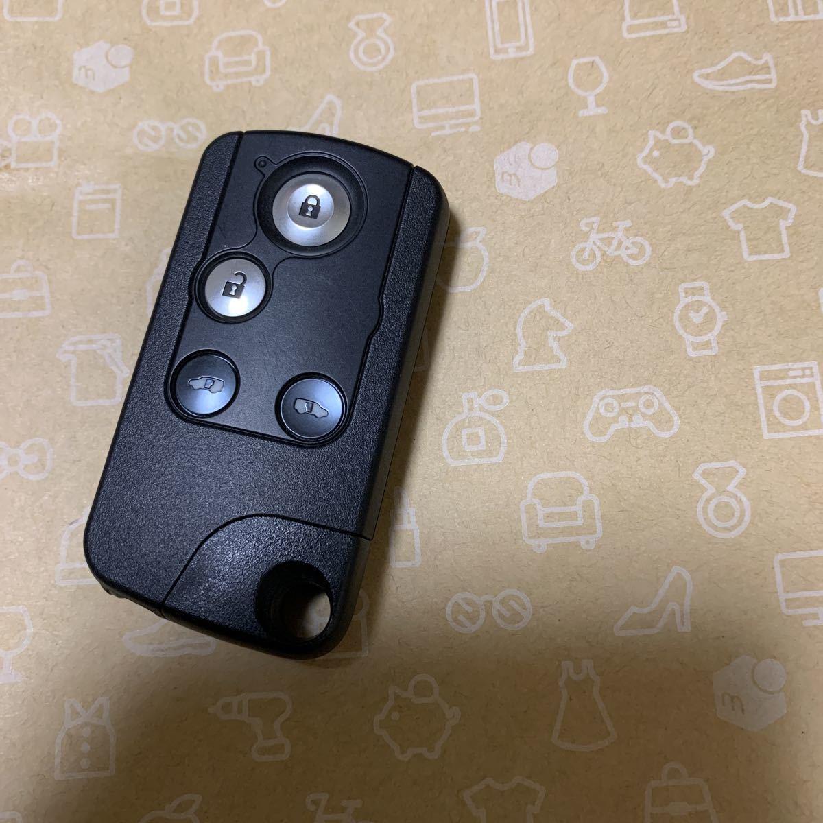 未使用保管品☆送料無料☆ホンダ 4ボタン 両側スライドドア ステップワゴン等 スマートキー 72147-SLJ-J61 1_画像1