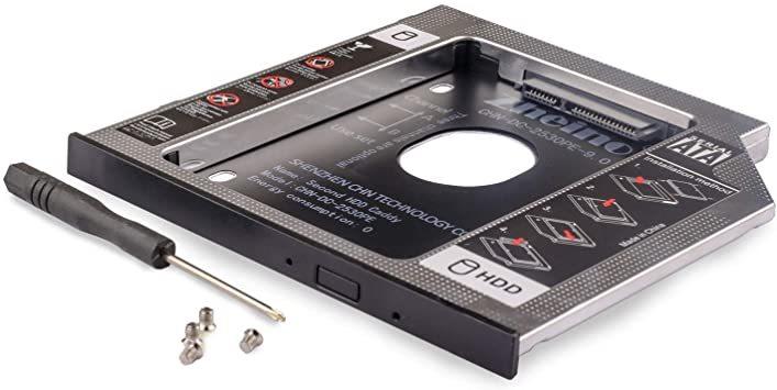 CHN-DC-2530PE-9.0 Zheino 2nd 9.0mmノートPCドライブマウンタ セカンド 光学ドライブベイ用 S_画像2