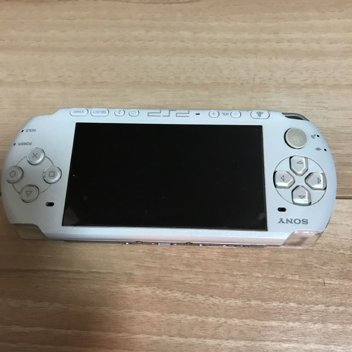 SONY PSP-3000本体。白色。