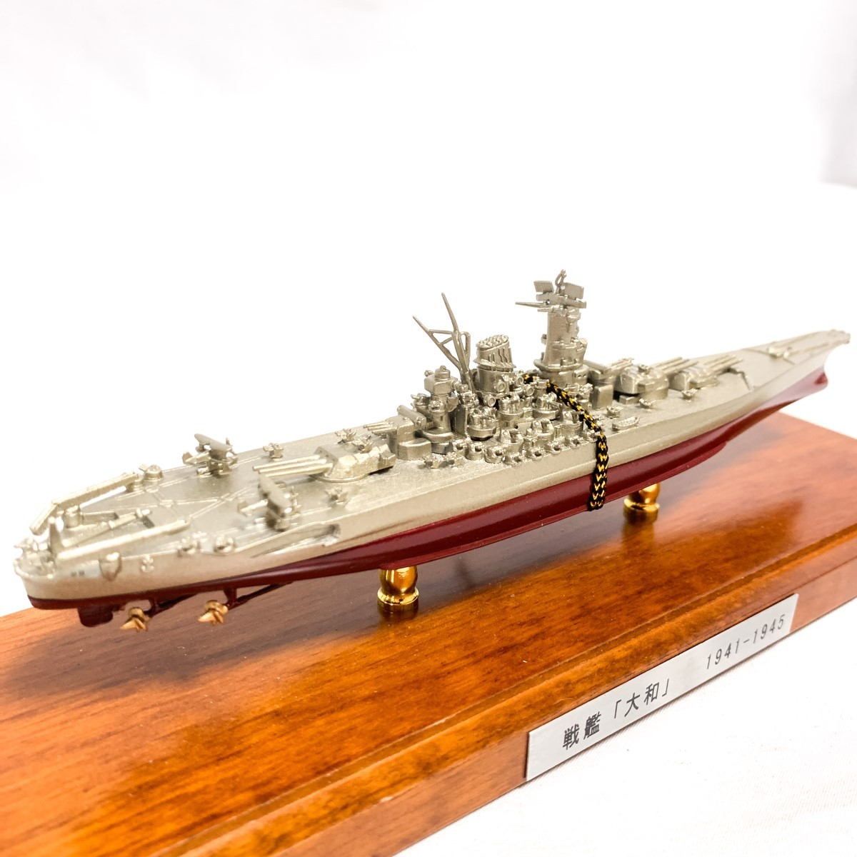 KONISHI 戦艦「大和」1941-1945 小西製作所 完成品 船 模型 置物 インテリア F226