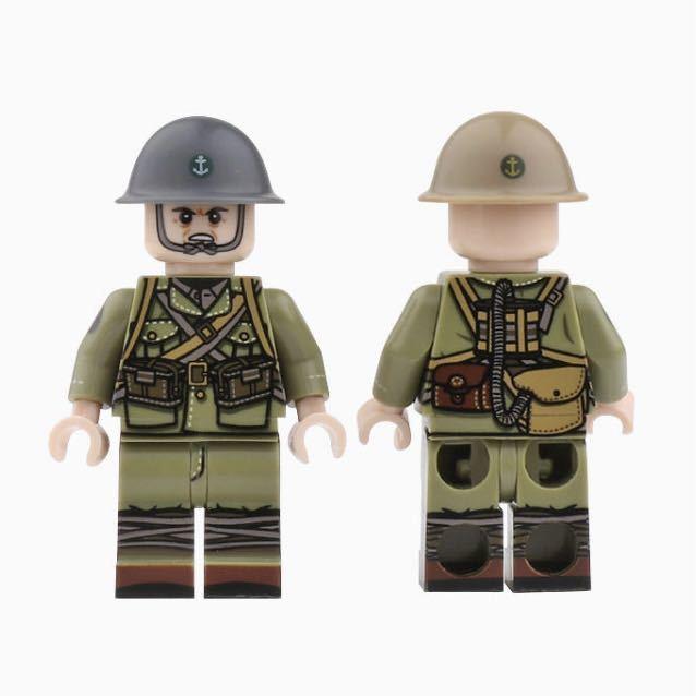 LEGO互換 日本海軍陸戦隊 10体セット_画像3