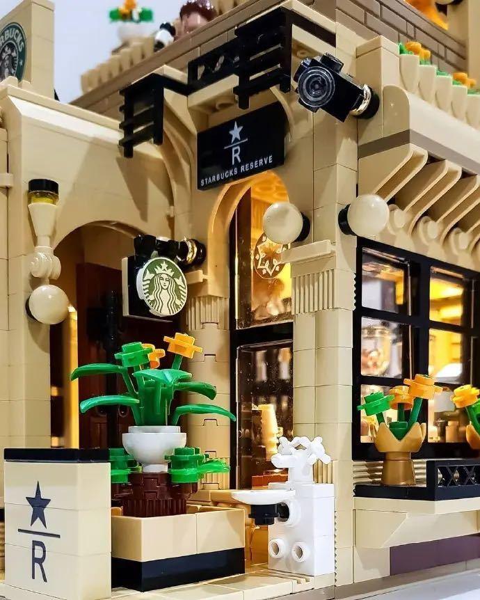 LEGO互換 喫茶店_画像4