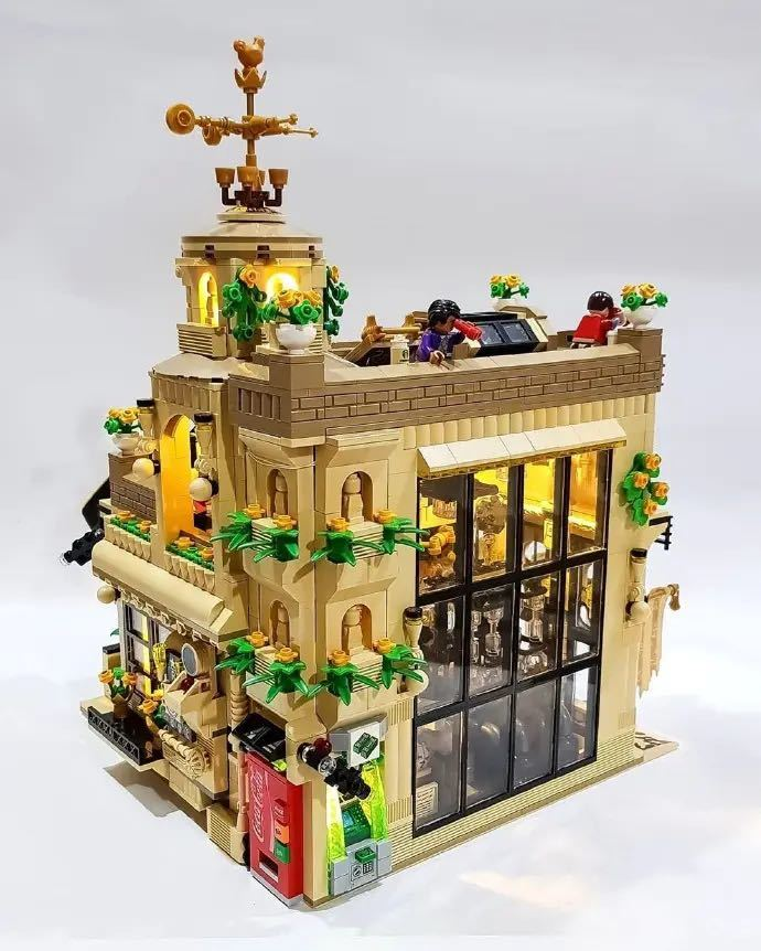LEGO互換 喫茶店_画像2