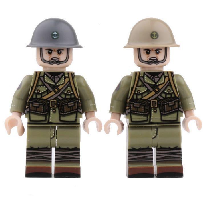 LEGO互換 日本海軍陸戦隊 10体セット_画像2