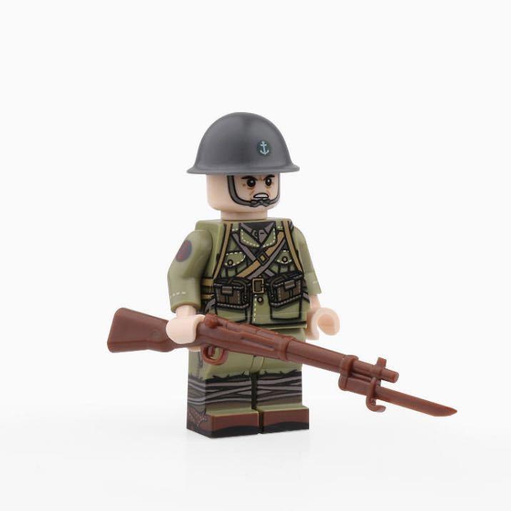 LEGO互換 日本海軍陸戦隊 10体セット_画像1