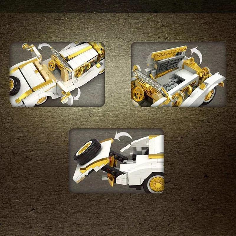 LEGO互換 k500 メルセデス_画像4