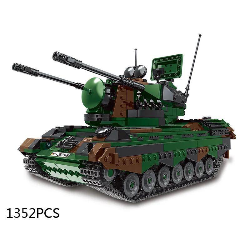 LEGO互換 ゲパルト自走対空砲_画像1