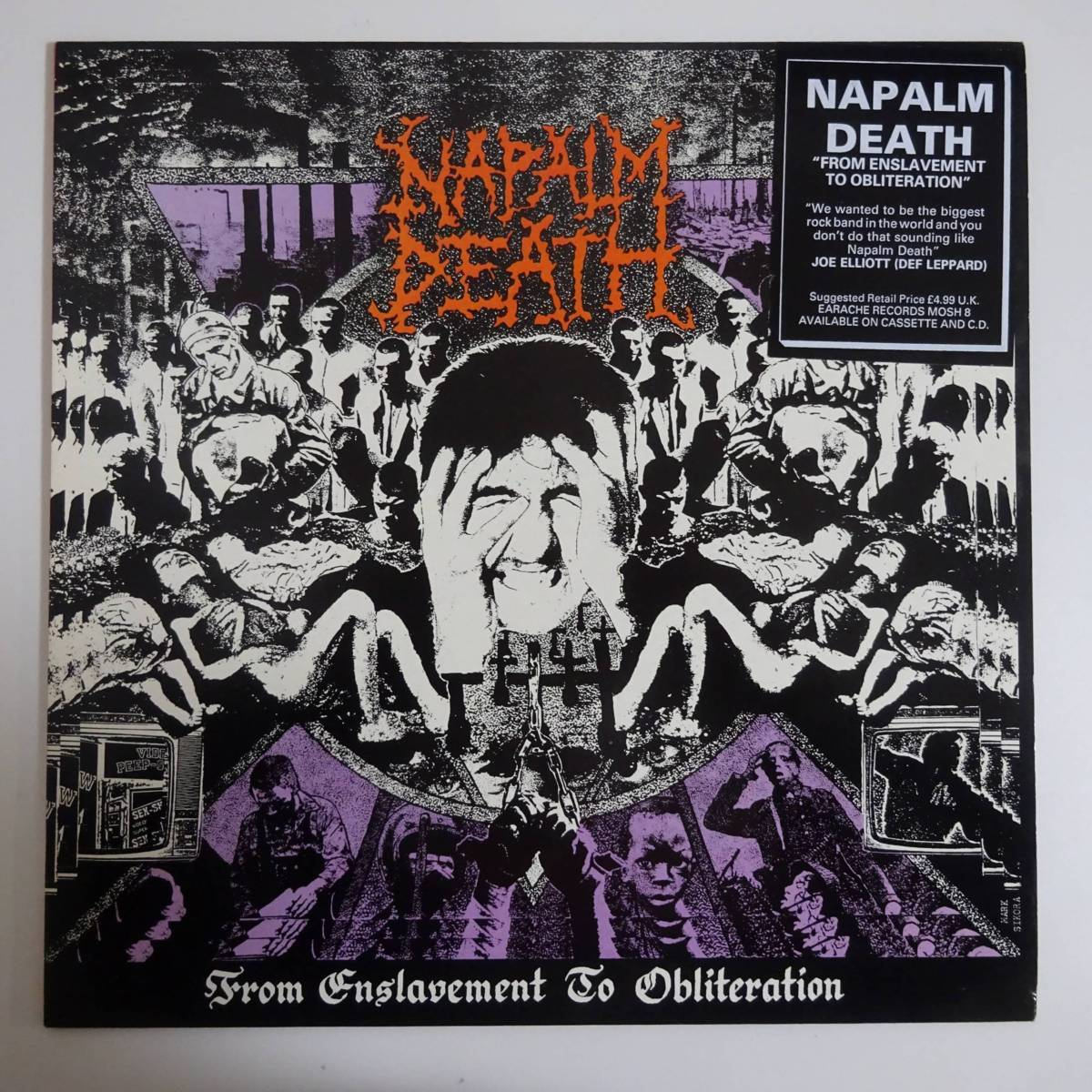 11123605;【UK盤】Napalm Death / From Enslavement To Obliteration