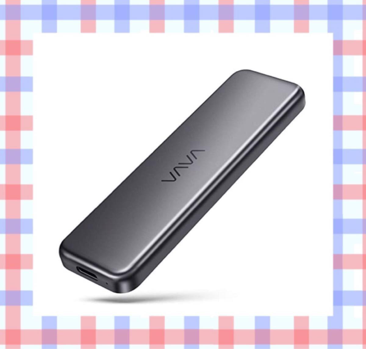 外付けSSD ポータブルSSD VAVA 512GB Type-C