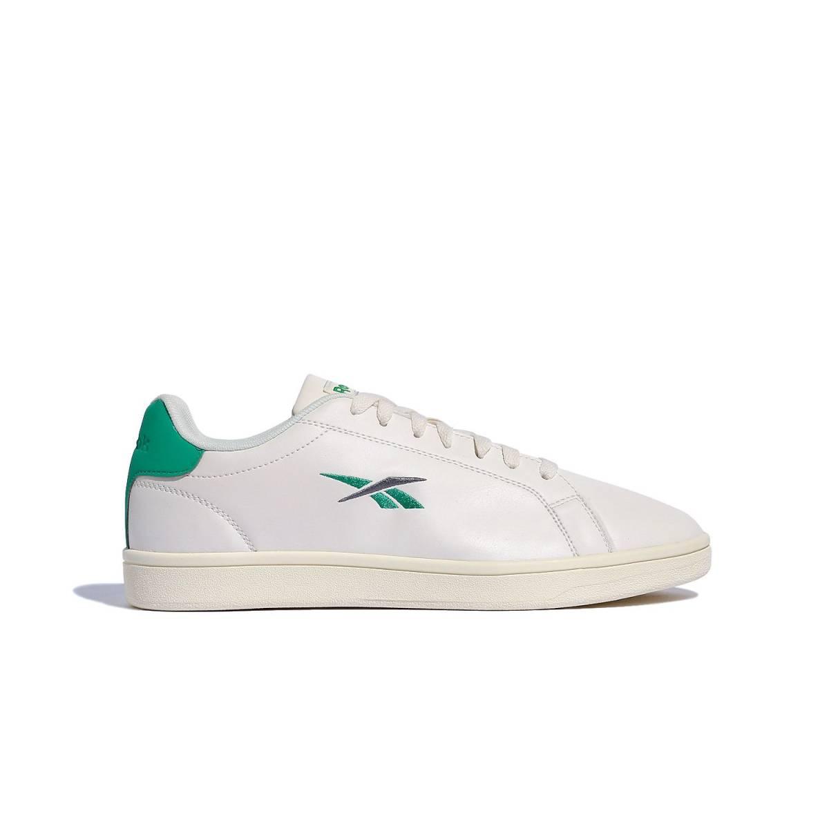 新品 リーボック Reebok REEBOK ROYAL COMPLETE SPORT 26.5cm 白 ホワイト 緑 グリーン スニーカー 靴 クラシック カジュアル シューズ_画像3