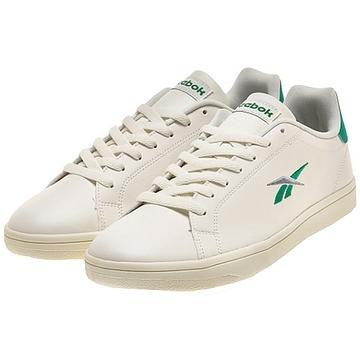 新品 リーボック Reebok REEBOK ROYAL COMPLETE SPORT 26.5cm 白 ホワイト 緑 グリーン スニーカー 靴 クラシック カジュアル シューズ_画像1