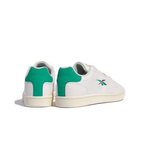 新品 リーボック Reebok REEBOK ROYAL COMPLETE SPORT 26.5cm 白 ホワイト 緑 グリーン スニーカー 靴 クラシック カジュアル シューズ_画像2