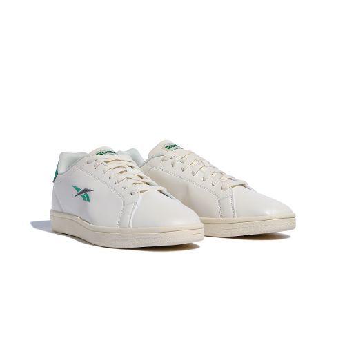 新品 リーボック Reebok REEBOK ROYAL COMPLETE SPORT 26.5cm 白 ホワイト 緑 グリーン スニーカー 靴 クラシック カジュアル シューズ_画像4