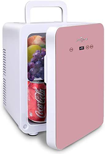 ピンク 10L Rockpals 小型冷温庫 氷点下-2℃~60℃ 10L 保冷庫 ミニ冷蔵庫 温度調節可能 保温・保冷両用 温_画像1