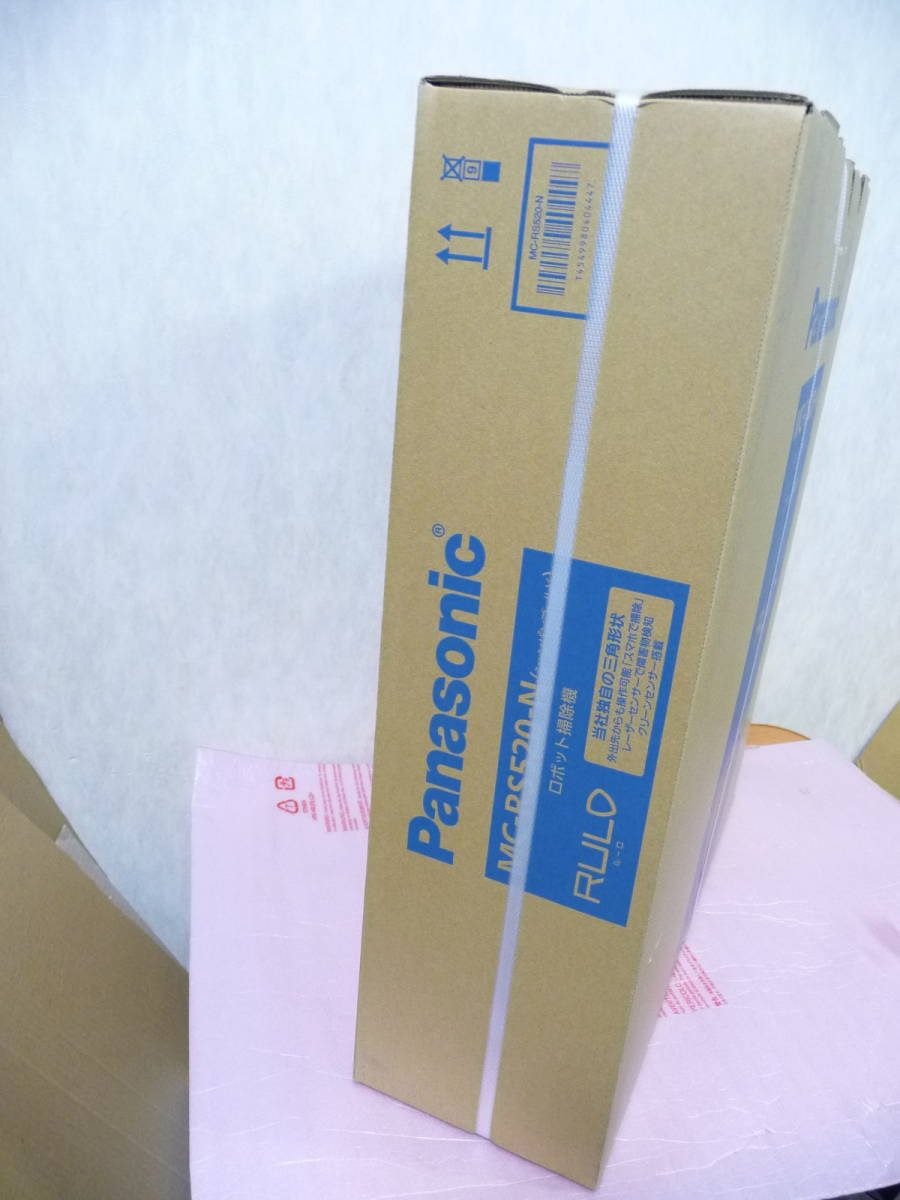 ★新品未開封 Panasonic パナソニック MC-RS520-N ロボット掃除機 RULO(ルーロ) [スマホ対応/日本製/シャンパンゴールド] 保証付 1点限り_画像4