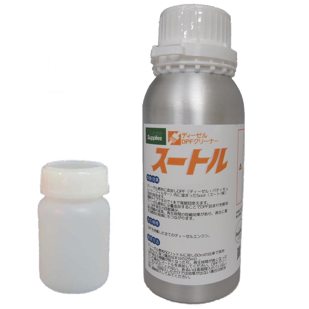 スートル 500ml DPFクリーナー 濃縮タイプ・ディーゼル燃料添加剤_画像1