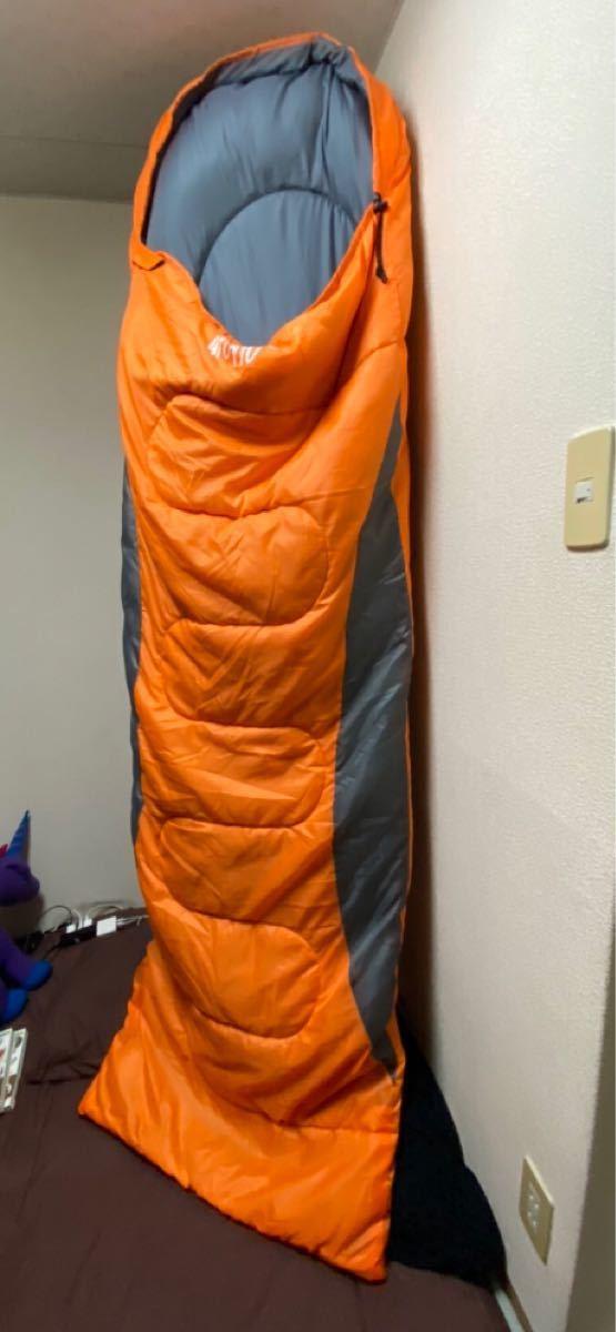3点セット 寝袋 オールシーズン シュラフ 限界使用温度 -7℃ 丸洗い 防災 キャンプ 車中泊 アウトドア 夜勤 登山 セット