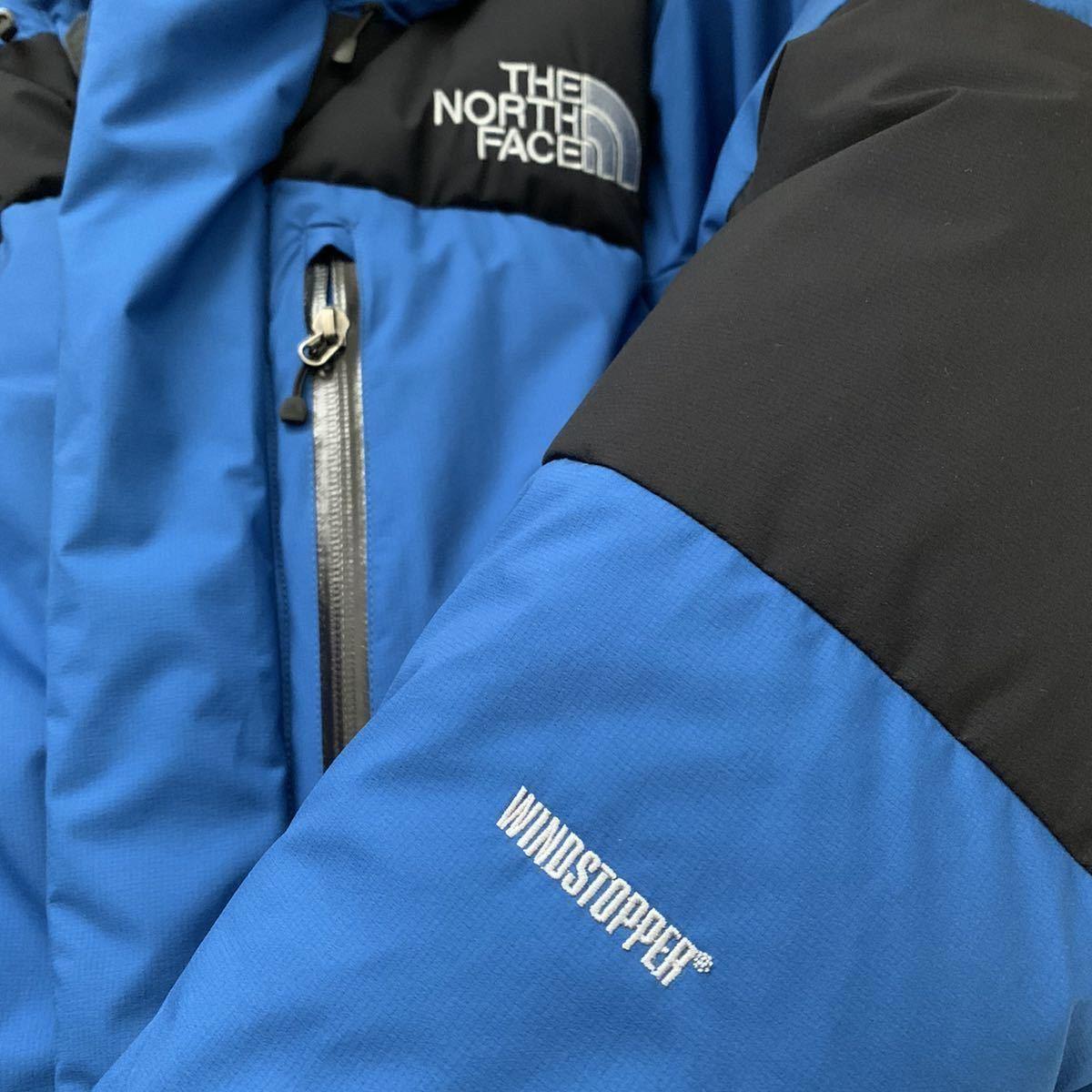 廃盤カラー M THE NORTH FACE Baltro LIGHT JACKET Blue ブルー ノースフェイス バルトロ nuptse ヌプシ ダウン ジャケット 1996 1994_画像2