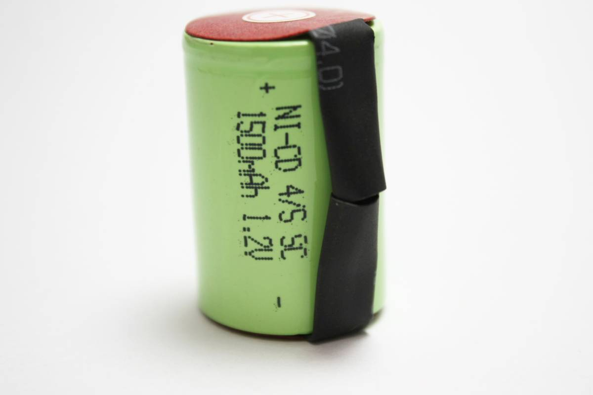 ★22.5x34mm NI-CD 4/5 SC ニカド ニッカド タブ付 ラジコン 電動RC ドライバー ドリル 工具掃除機 電動インパクト 充電池 バッテリー06_画像2