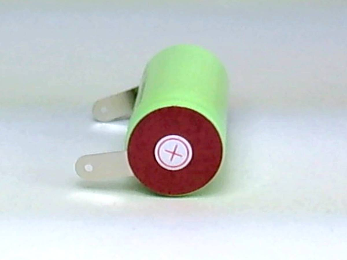 ★22.5x43mm NI-MH Sub-C SC ニッケル水素 ミニ単2 サブC セル エアガン 電動ガン ドライバー ドリル 工具 掃除機 充電池 バッテリー04_画像3