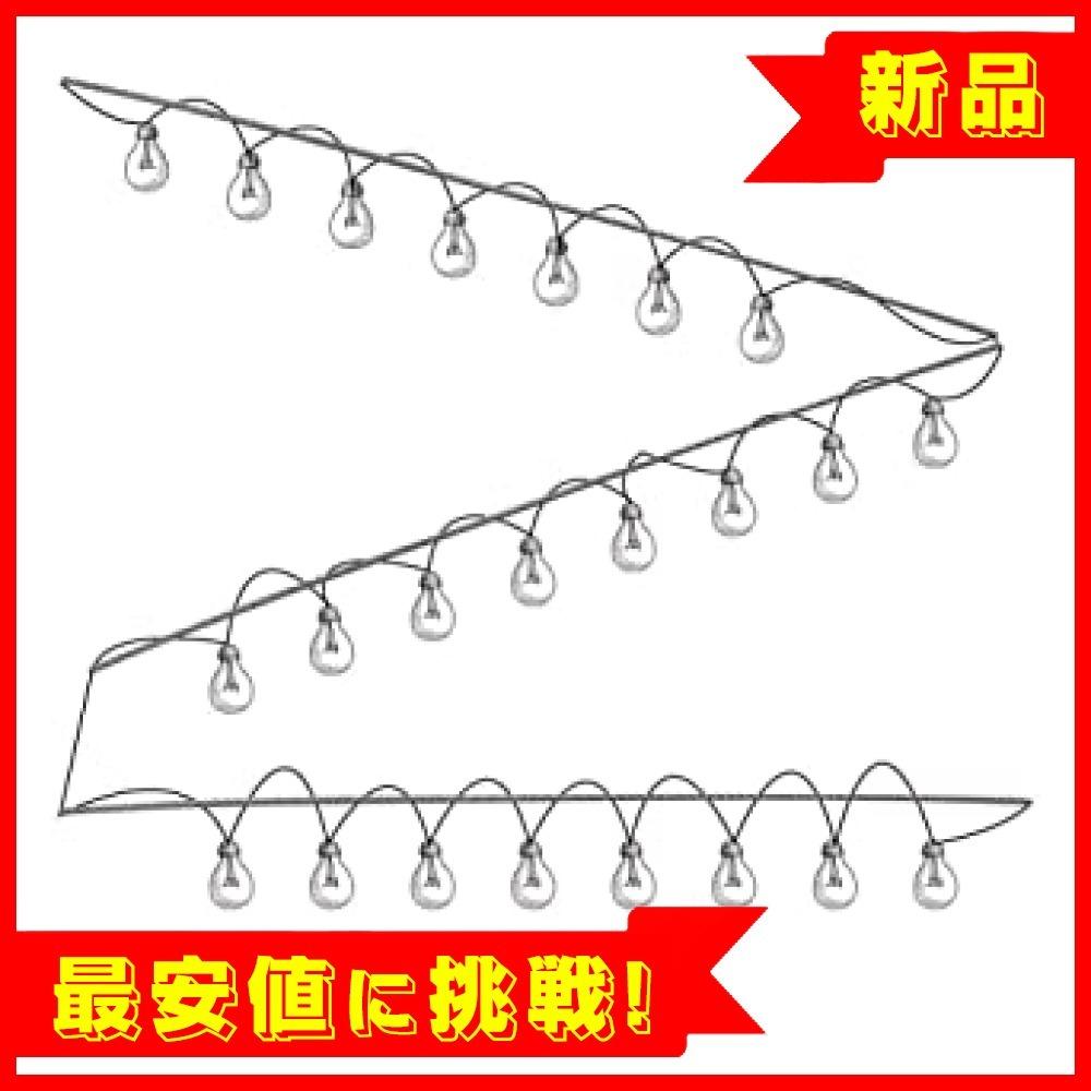 【新品!最安値!】直径2.0mm 長さ30m アルミスリーブ 継手 8文字型 30個入り ワイヤー ロープ ステンレスワイヤ_画像8