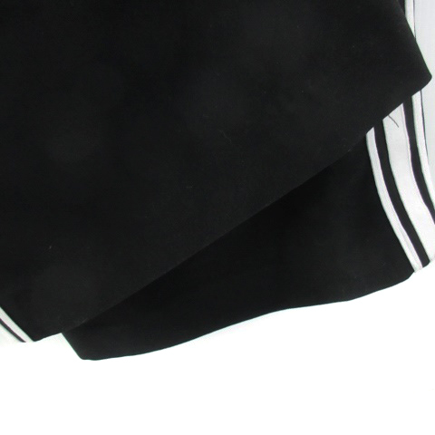スライ SLY パンツ ワイド アンクル丈 ライン 2 ブラック 黒 /YM8 レディース_画像3