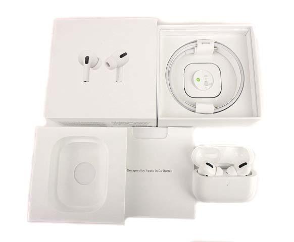 Apple アップル AirPods Pro MWP22J/A エアポッズ プロ ワイヤレス イヤホン ホワイト_画像7