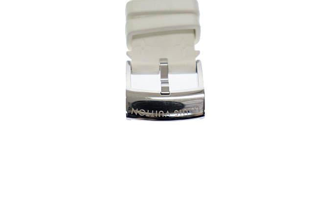 ルイヴィトン LOUIS VUITTON タンブール ホライゾン スマートウォッチ デジタル 腕時計 ラバー モノグラム ベルト QA002Z 黒 白 ▲■_画像8