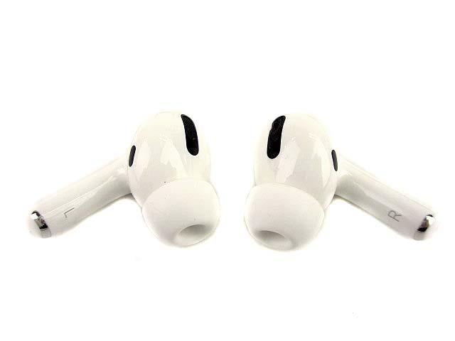 Apple アップル AirPods Pro MWP22J/A エアポッズ プロ ワイヤレス イヤホン ホワイト_画像3