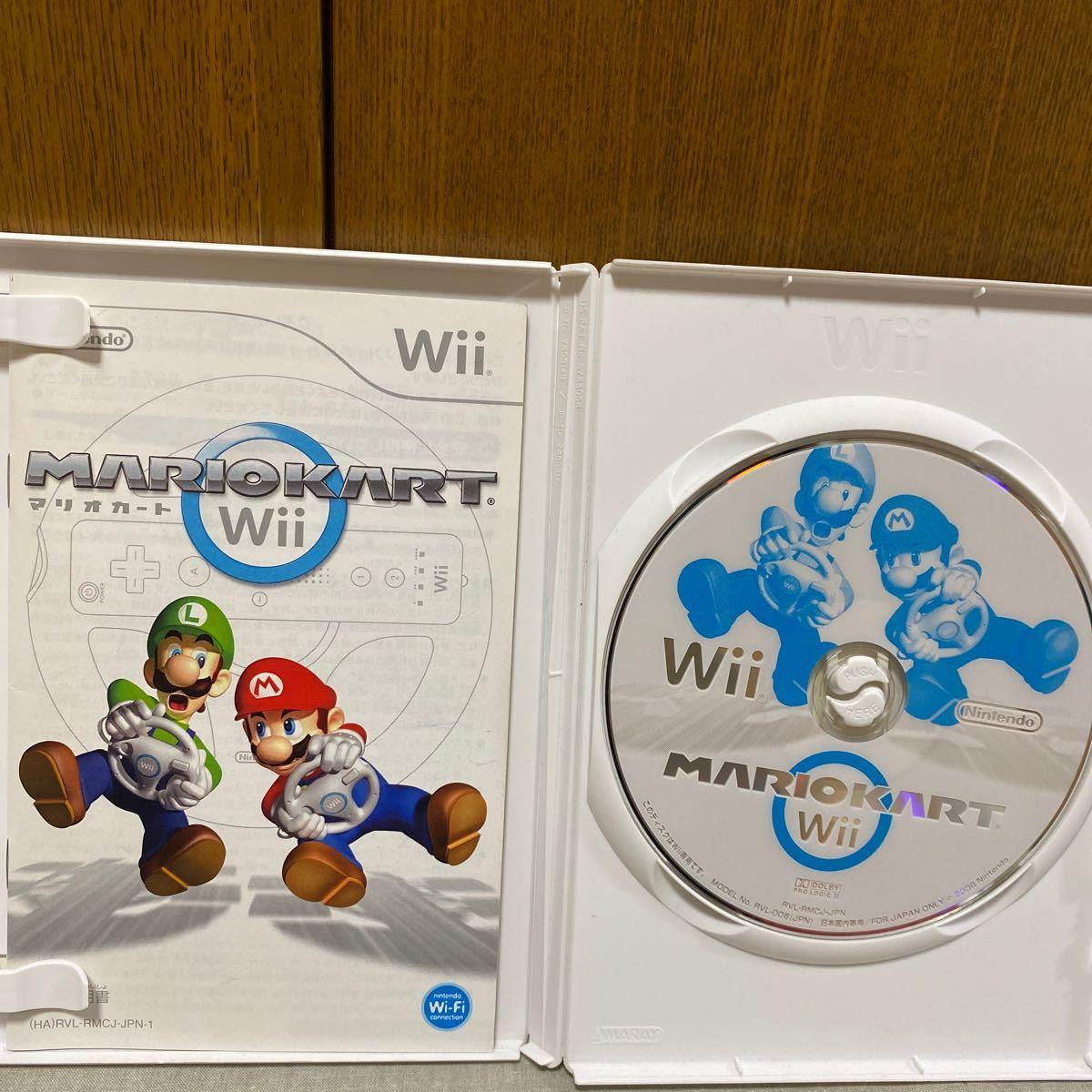 マリオカートWii  +Wiiハンドル