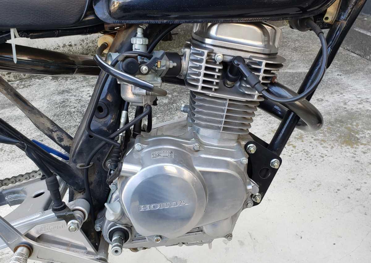 「XE50改 製作途中 レアパーツ付き エイプ100 エンジン イズミモータース マフラー ミクニ バックステップ XE75 XRモタード100」の画像3