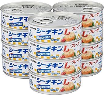70g×12缶 [Amazonブランド] SOLIMO シーチキン Lフレーク 70g×12缶_画像1