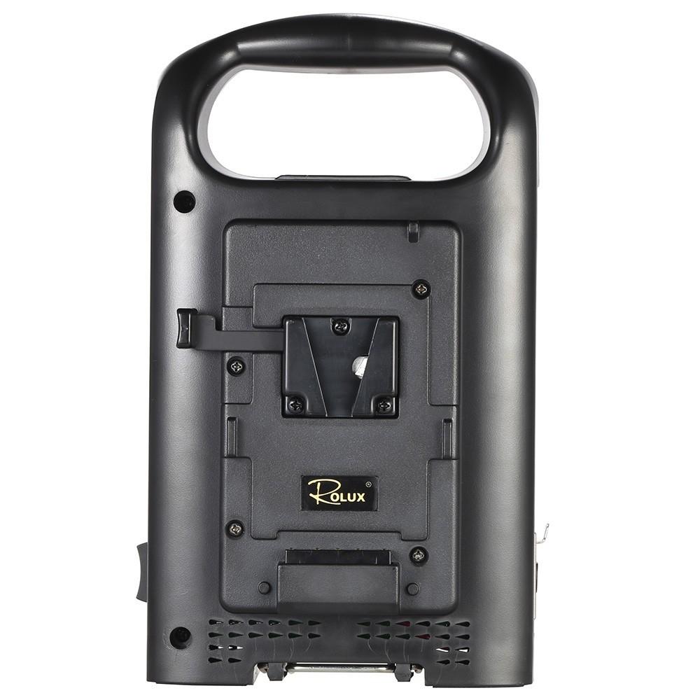 SONY Vマウントカムコーダーバッテリー対応 2チャンネル デュアル充電器 ROLUX RL-2KS_画像5