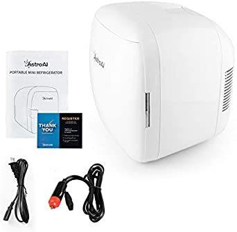 9L AstroAI 冷蔵庫 小型 ミニ冷蔵庫 小型冷蔵庫 冷温庫 9L 化粧品 小型でポータブル 家庭 車載 保温 保冷 2電_画像8