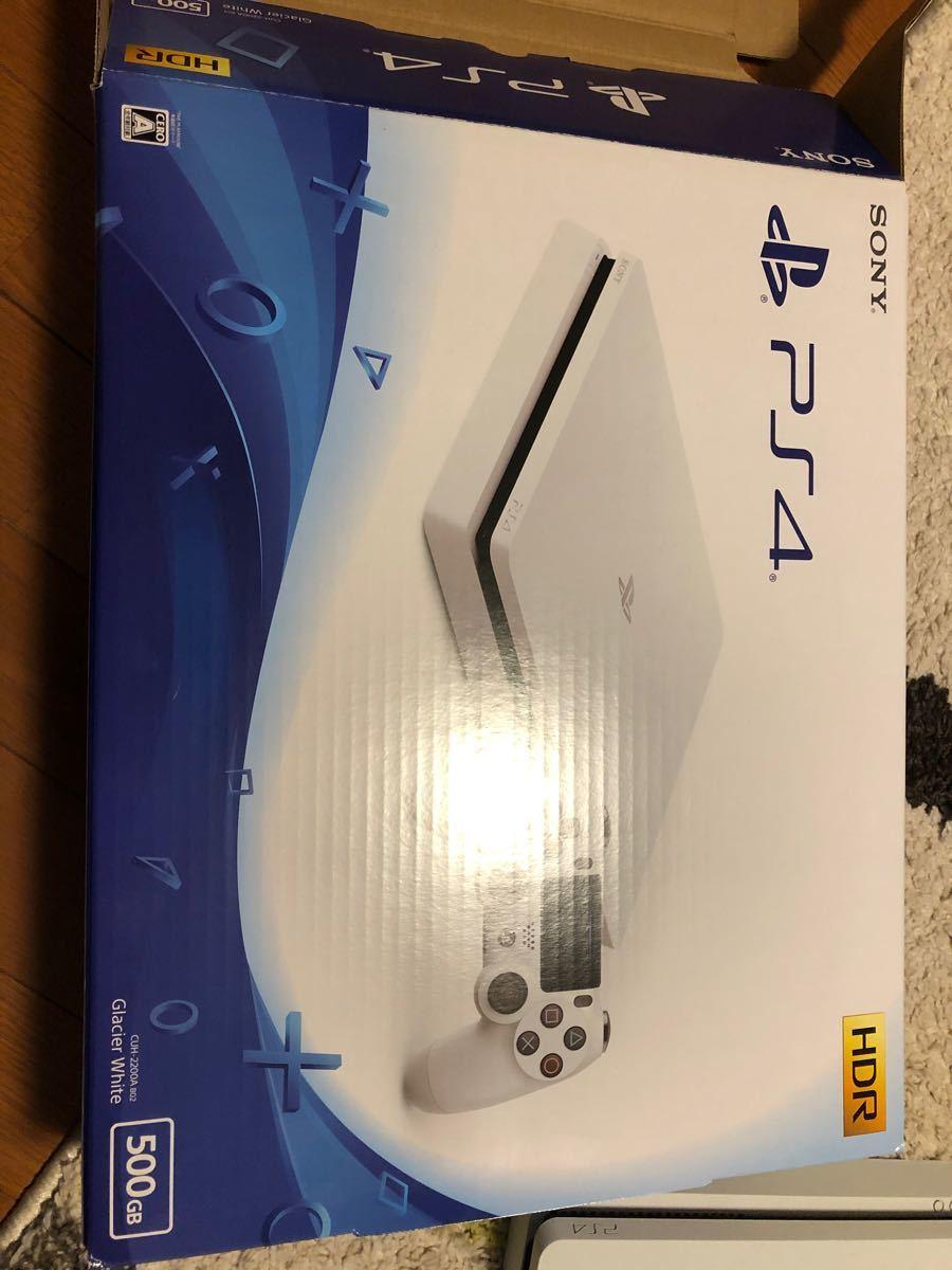PlayStation4 (グレイシャー・ホワイト 500GB CUH-2200AB02)、キングダムハーツ3