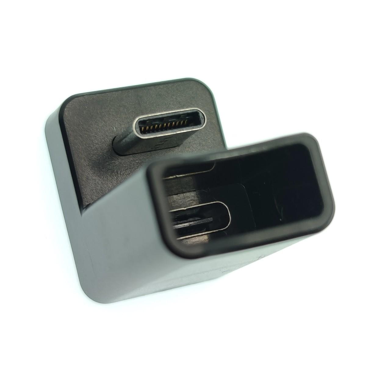 USB-C USB3.1 Gen2 コの字アダプタ