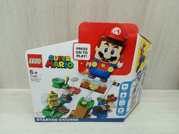 未開封品 LEGO SUPER MARIO スーパーマリオ レゴ マリオ と ぼうけんのはじまり スターターセット 71360_画像1